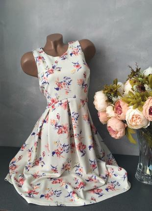 Красивое платье миди летнее нарядное