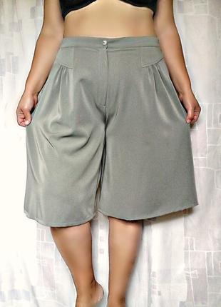 Новые модные кюлоты, юбка-брюки, из стрейчевой ткани, франция