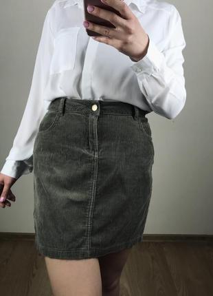Актуальная вельветовая юбка 🖤