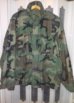 Куртка м-65  alpha industries, usa. woodland