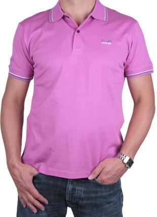 Мужская футболка тениска поло roberto cavalli m, l, xl оригинал с голограмами