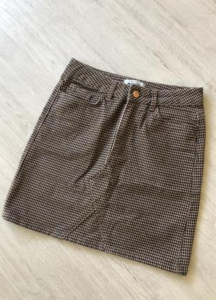 Джинсовая юбка new look