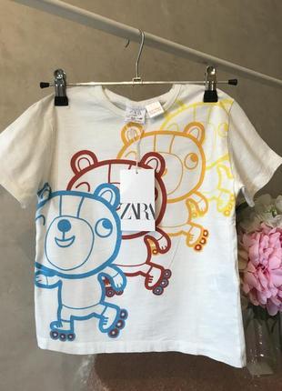 Красивая футболка для мальчика zara