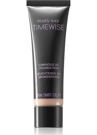 Матовая тональная основа timewise® 3d  т 130