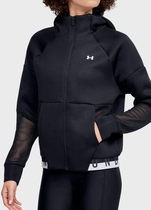 Женское черное худи