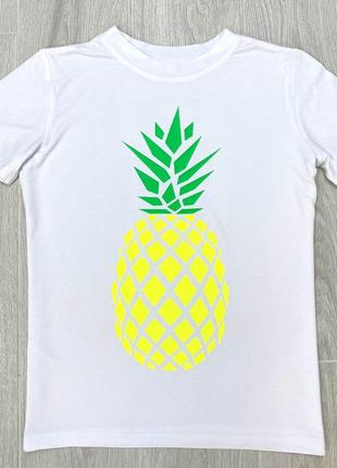 Модная футболка на девочку от polin line