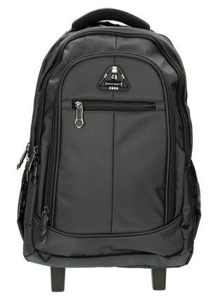 Рюкзак на колесах enrico benetti eb62024 001 черный