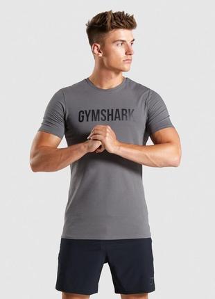 Мужская футболка gymshark base оригинал