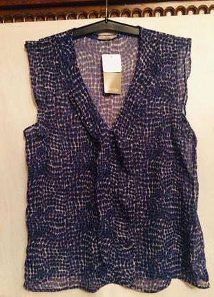 Летняя блузка,без рукав, тренд этого сезона от бренда orsay