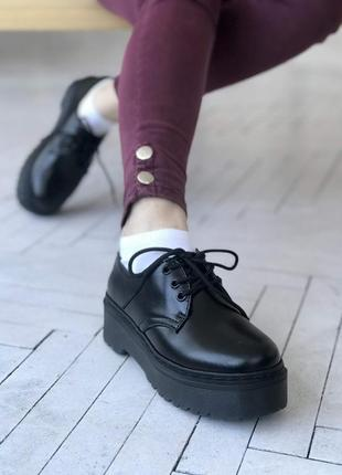 Ботинки женские💥 dr. martens 1461 low топ качество 💥 ботинки доктор мартинс