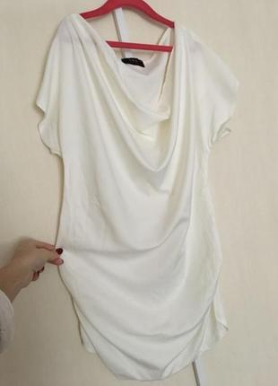 Белоснежная блузка /футболка trg
