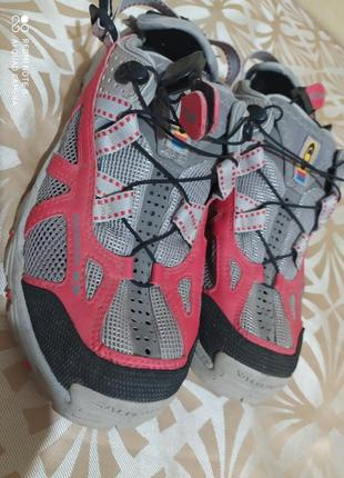 Кроссовки сандалии треккинговые дышащие salomon
