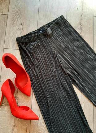 Актуальнейшие брюки, кюлоты , плиссе, хаки, от new look, l, xl