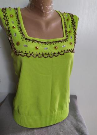 Блуза  louise нарядна,літо. р.м/l