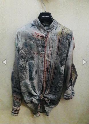 Шелковая рубашка /блуза от alba moda🎉
