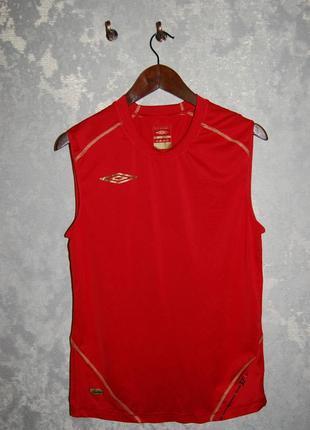 Безрукавка футболка для бега и тренировок umbro сlimate control, оригинал,на 48-50 р-р.