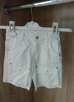 Стильные хлопковые шорты 2 пары