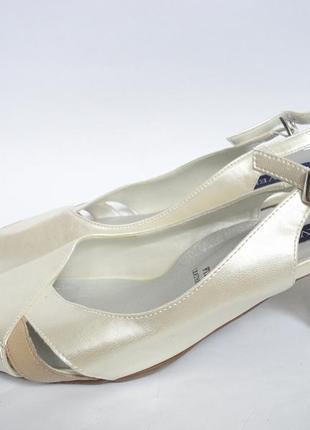 Босоножки на широкие ножки нат.кожа р.40
