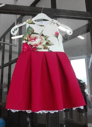 Платья для девочки с принтом d&g