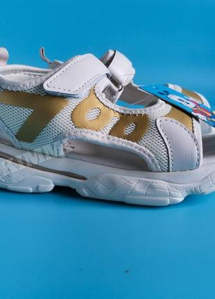 Стильные детские спортивные босоножки сандалии