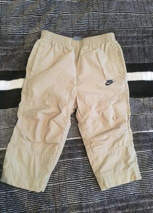 Спортивные штанишки утеплённые