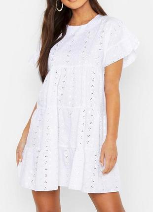 Новое воздушное летнее платье prettylittlething