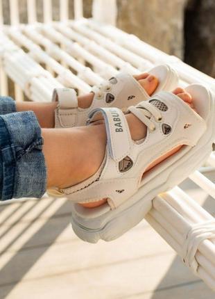 Спортивные детские босоножки сандалии