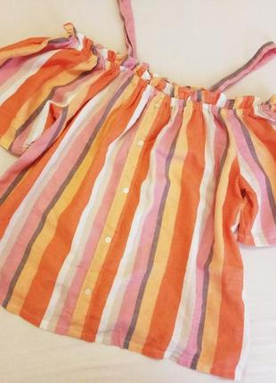 Блуза, кофточка с открытыми плечами primark, англия