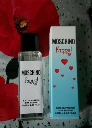Мини парфюм премиум 60 мл эмираты moschino funny,легкий,свежий аромат