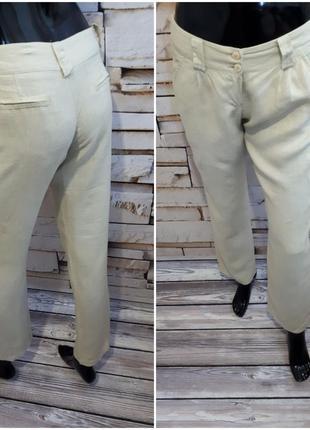 Летние брюки штаны /100% лен
