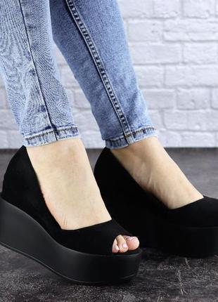 Женские туфли черные 1940