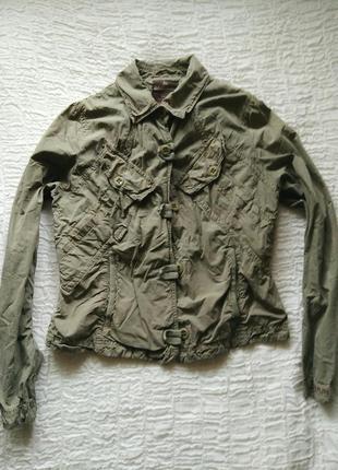 Лёгкая котоновая куртка napapijri