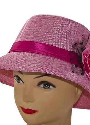 Шляпа летняя 56-58