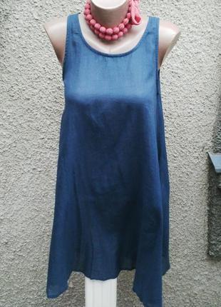 Легкое,воздушное платье-майка,туника,сарафан,хлопок