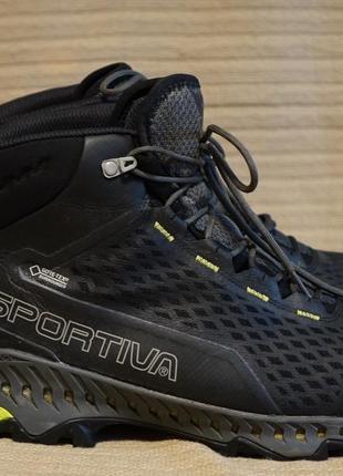 Легкие трекинговые ботинки la sportiva stream gore tex surround 44 р.