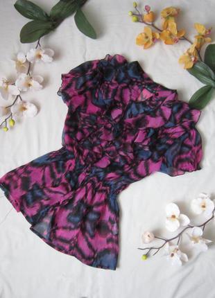 Кольорова блузка