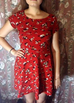Красивое платье с цветок от dorothy perkins