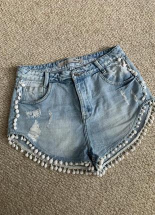 Женские джинсовые шорты denimco