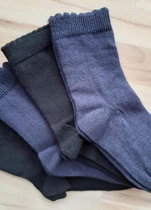 Носки george, фигурная резинка. 26-28р. лот 4 пары!