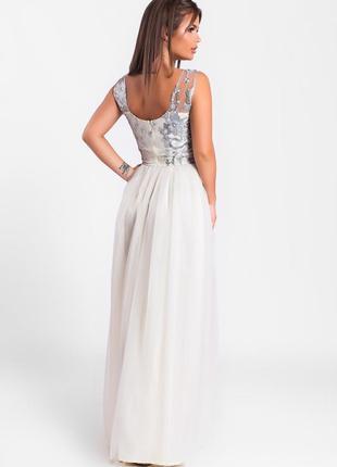 Шикарное длинное платье лимонное арт17152 фото