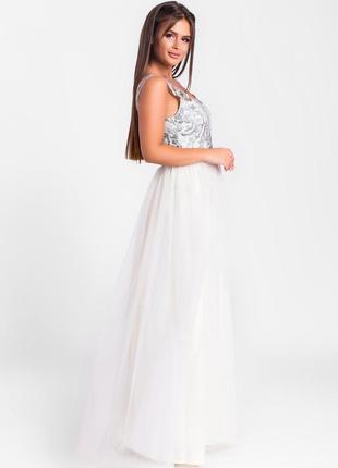 Шикарное длинное платье лимонное арт17153 фото