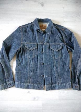 Мужская джинсовая куртка. жакет.