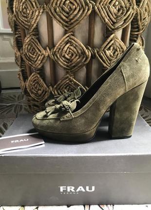 Очень стильные туфли frau