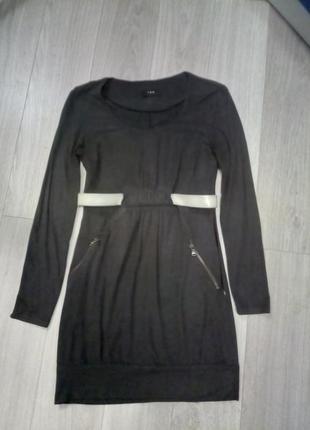 Платье из замша