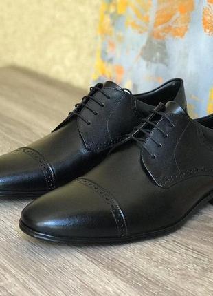 Кожаные туфли, оксфорды massimo matteo, 42-43 р. (26.7см)