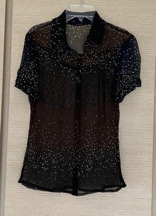 Блуза шёлковая эксклюзив премиум бренд max mara размер s