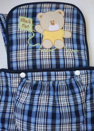 Рюкзак-кенгуру (переноска для ребенка)