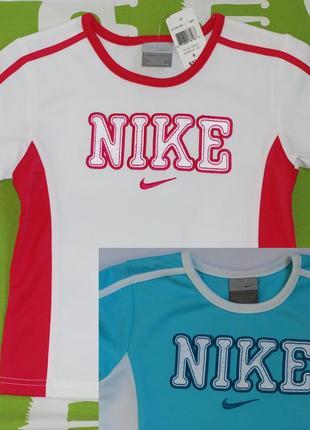 Футболка спортивная nike, для девочки,5 лет,6 лет