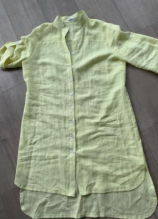 Нереально крутая рубашка лён