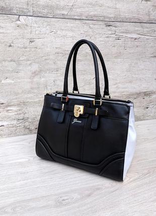 Guess большая и очень функциональная сумка 100% оригинал michael kors massimo dutti liu jo